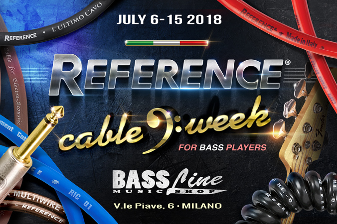 #1 CABLE WEEK for bass players