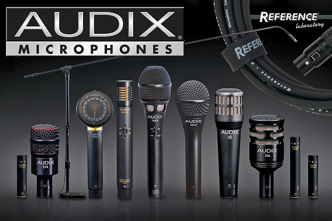 Audix microphones | The new catalog is online!