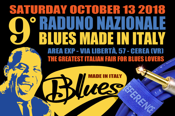 9° National Meeting BLUES MADE IN ITALY (Cerea - CN)