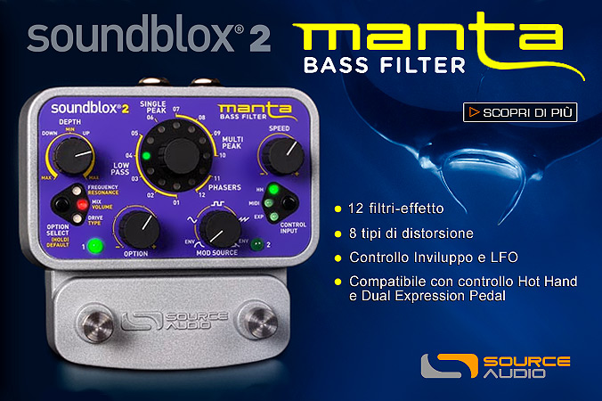 Soundblox 2 MANTA Bass Filter