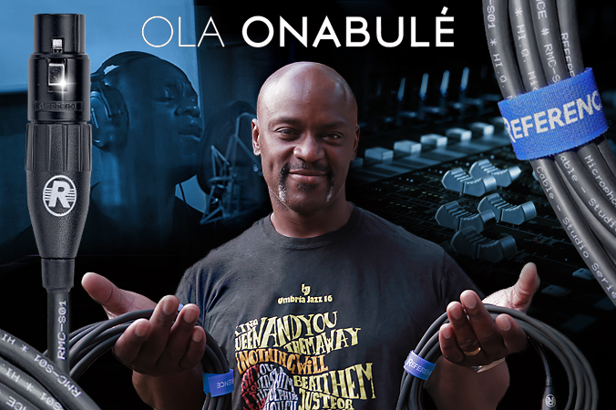 OLA ONABULÉ TALKS ABOUT REFERENCE LABS CABLES