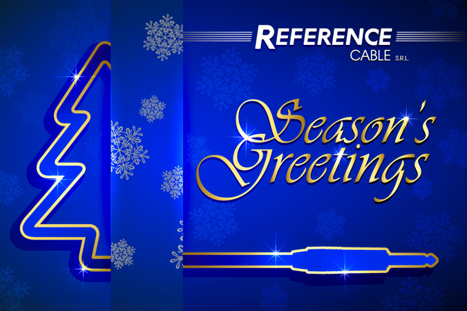 Season's Greatings and Happy New Year from we all at REFERENCE labs!