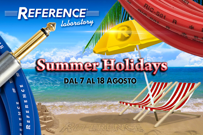 Buone vacanze dal Reference Team!
