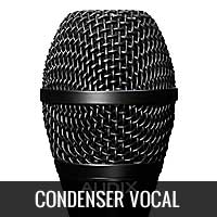 Condenser Vocal Microphones
