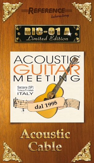RIC-01 A Limiter Edition Acustic Guitar Meeting - Cover ufficiale by Reference Laboratory
