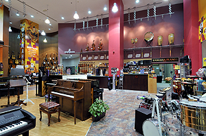 Thomsun Pure Music, IBN Batuta Mall, China Court, Dubai - click to zoom...