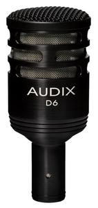 AUDIX D6 - read the official sheet...