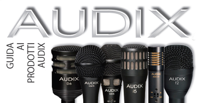 Download the Audix Pocket Guide (ITA lang)