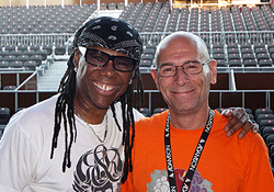 John Ryan w/t Nile Rodgers! Read the Nile's quote in news...