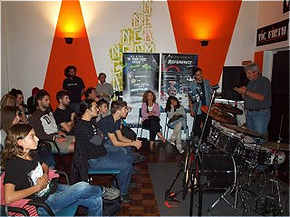 Workshop Tour @ Accademia Nel Centro della Musica - 29 september 2012 - Facebook Album